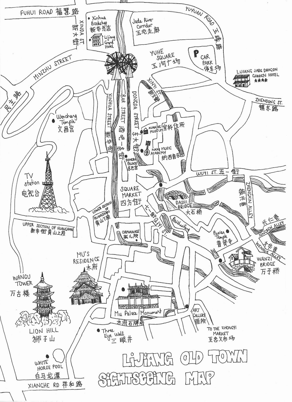 map20lijiang20town